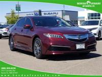TLX WITH TECH PACKAGE!! NAVIGATION!! LEATHER!! POWER