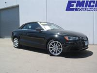 CARFAX One-Owner. Equipped with: quattro, Black
