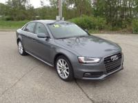 2016 Audi A4 2.0T Premium Plus quattro Grey 8-Speed