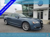 CARFAX One-Owner. 2.0L 4-Cylinder TFSI Back Up Camera,