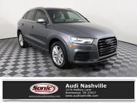Scores 29 Highway MPG and 20 City MPG! This Audi Q3