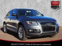 Monsoon Gray Metallic 2016 Audi Q5 2.0T Premium quattro