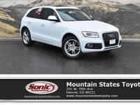 Come see this 2016 Audi Q5 Premium Plus. Its Automatic