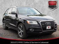 Brilliant Black 2016 Audi Q5 3.0T Premium Plus quattro