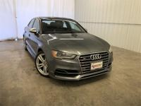 Monsoon Gray Metallic 2016 Audi S3 quattro quattro Dual