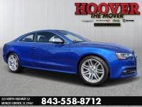 CARFAX One-Owner. Clean CARFAX. Blue 2016 Audi S5 3.0T