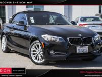 Jet Black 2016 BMW 2 Series 228i RWD 8-Speed Automatic