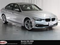 This 2016 BMW 320i is a One Owner vehicle with a Clean