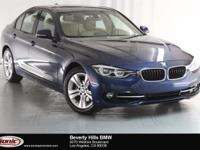 This 2016 BMW 328i is a One Owner vehicle with a Clean