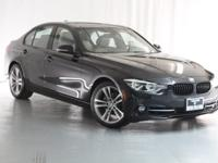 This 2016 BMW 328i is a One Owner vehicle, Black