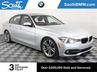 Recent Arrival! CARFAX One-Owner. 2016 BMW 3 Series