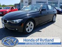 Black 2016 BMW 3 Series 328i xDrive AWD 8-Speed