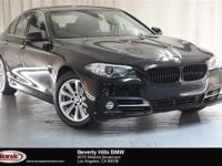 This 2016 BMW 528i is a One Owner vehicle with a Clean
