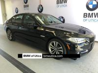 EPA 34 MPG Hwy/22 MPG City! CARFAX 1-Owner, BMW