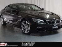 This 2016 BMW 640i is a One Owner vehicle with a Clean