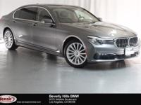 This 2016 BMW 740i is a One Owner vehicle with a Clean