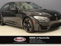 This Certified Pre-Owned 2016 BMW M3 (***ONE OWNER,