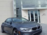 2016 BMW M4, MINERAL GRAY, *NAVIGATION*, *EXECUTIVE