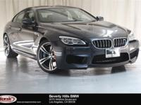 This 2016 BMW M6 Gran Coupe is a One Owner vehicle,