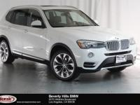 This 2016 BMW X3 xDrive28d is a One Owner vehicle with