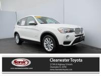 Scores 28 Highway MPG and 21 City MPG! This BMW X3