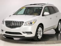 New Price! 2016 Buick Enclave Premium Group White Frost