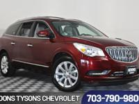 2016 Buick Enclave Premium Group Crimson Red Tintcoat