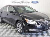 Clean CARFAX. Ebony Twilight Metallic 2016 Buick