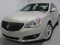 Clean CARFAX. 2016 Buick Regal Turbo FWD 6-Speed