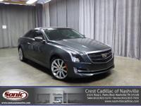 This Certified Pre-Owned 2016 Cadillac ATS Coupe Luxury
