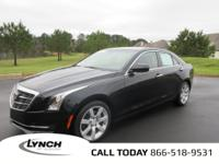 OVERVIEWThis 2016 Cadillac ATS Sedan 4dr RWD Coupe