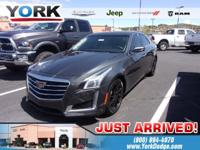 phantom gray metallic 2016 Cadillac CTS 2.0L Turbo RWD