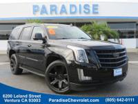 Black Raven 2016 Cadillac Escalade Luxury RWD 8-Speed