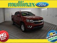2016 Chevrolet Colorado LT, 3.5L V6, Crew Cab, Leather,