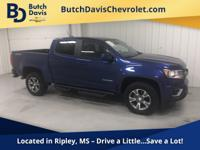 2016 Chevrolet Colorado V6 Z71 Crew Cab 4WD for sale -