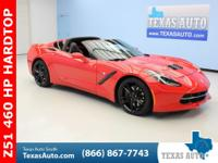 STINGRAY-C7-Z51-1LT-460 HP-REMOVABLE HARDTOP-REAR VIEW