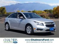 2016 Chevrolet Cruze Limited LS Silver Ice Metallic