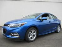 This outstanding example of a 2016 Chevrolet Cruze LT