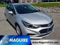 Did you know this 2016 Chevy Cruze gets amazing gas