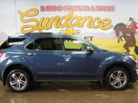 Patriot Blue Metallic 2016 Chevrolet Equinox LTZ AWD
