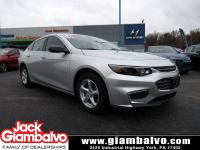 2016 CHEVROLET MALIBU LS ...... ONE LOCAL OWNER .......
