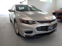 THIS SILVER ICE METALLIC 2016 MALIBU LT 4DR SEDAN w/1LT