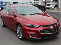 2016 Chevrolet Malibu Premier Crystal Red Tint 8-Speed