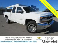 Summit White 2016 Chevrolet Silverado 1500 LT LT1 4WD