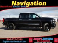 LEATHER INTERIOR, Silverado 1500 LTZ, 4D Crew Cab,