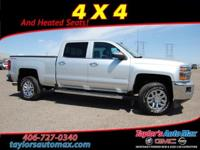 LEATHER INTERIOR, Silverado 2500HD LTZ, 4D Crew Cab,