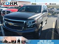 Tungsten Metallic 2016 Chevrolet Tahoe LS 4WD 6-Speed