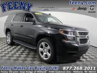 Clean One Owner Carfax, Tahoe LT, V8, 6-Speed Automatic