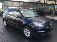 Blue 2016 Chevrolet Traverse LS AWD 6-Speed Automatic