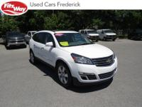 2016 Summit White Chevrolet Traverse 6-Speed Automatic